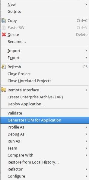 TIBCO BW 6 Maven plugin generate pom [miaffo.net]