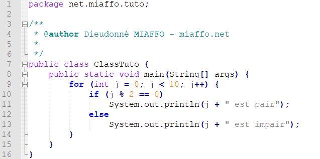Télécharger et installer Eclipse IDE -mon premier programme Java - miaffo.net