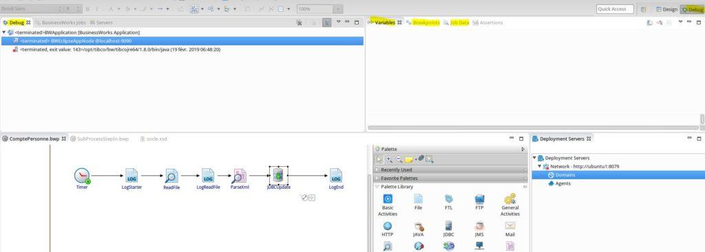 miaffo.net - TIBCO BW6 debugging step by step - perpective debug